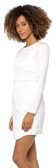 Tibi Paneled Fitted Dress