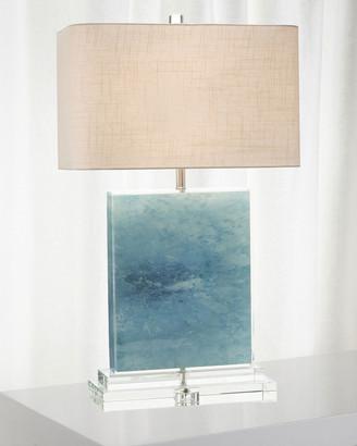 John-Richard Collection John Richard Collection Ocean Canvas/Acrylic Table Lamp