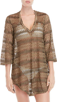 Jordan Taylor V-Neck Cover-Up Tunic