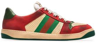 Gucci Virtus distressed effect sneakers