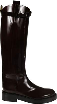 Ann Demeulemeester Round Toe Over-the-knee Boots