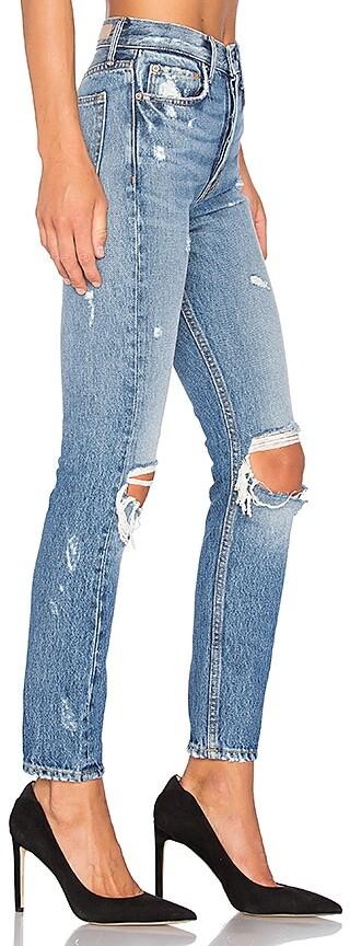 GRLFRND Karolina High-Rise Skinny Jean 2