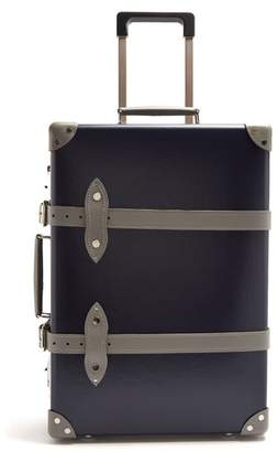 Globe-trotter Globe Trotter X Matchesfashion.com Centenary 20 Cabin Suitcase - Mens - Navy Multi