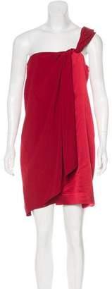 Diane von Furstenberg Silk One-Shoulder Dress