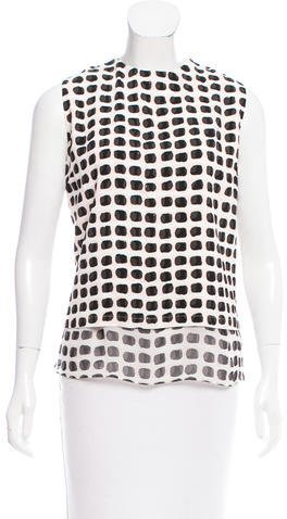 Kate Spade New York Island Stamp Blouse w/ Tags