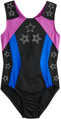 Danskin Girls 4-14 JoJo Siwa Sparkle Stars Dance Leotard