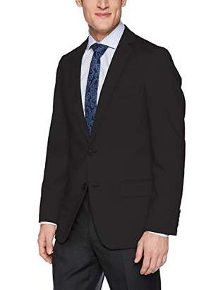 Haggar Men's Knit Stretch Slim Fit Solid Blazer