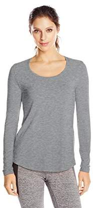 Lucy Women's Long-Sleeve Workout T-Shirt $29.99 thestylecure.com
