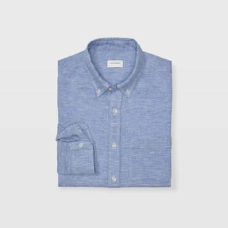 Club Monaco Slim End-On-End Linen Shirt