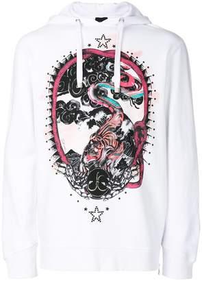 Just Cavalli animal print hoodie