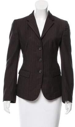 Neil Barrett Pinstripe Wool Blazer