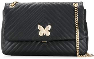 Twin-Set quilted butterfly shoulder bag