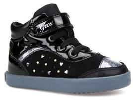 Geox Kiwi Girl Studded High Top Sneaker