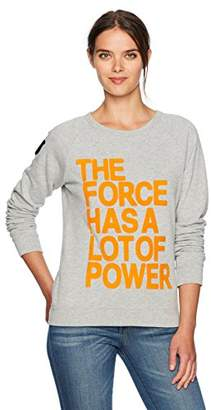 Freecity Women's Fuzzy The Force Has a Lot of Power Top
