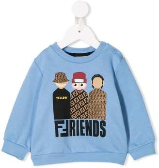 Fendi graphic print sweatshirt