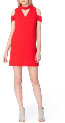 Women's Tahari Mock Neck Dress $128 thestylecure.com