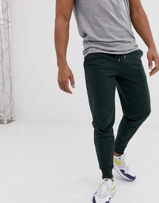 Asos Design DESIGN slim joggers in khaki