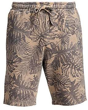 Saks Fifth Avenue Men's MODERN Tropical Print Drawstring Shorts