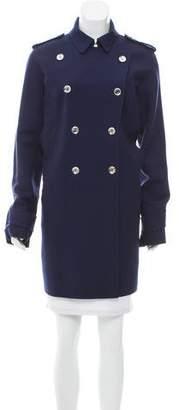 Gucci Notch-Lapel Wool Coat