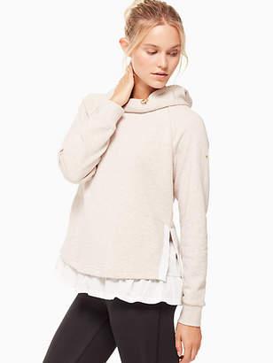 Kate Spade Ruffle pullover hoodie