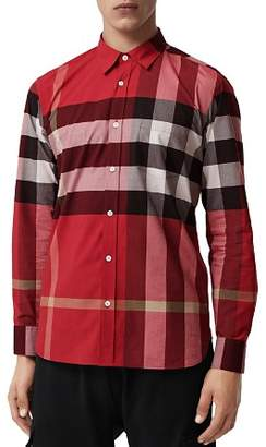 Burberry Windsor Check-Pattern Classic Fit Shirt