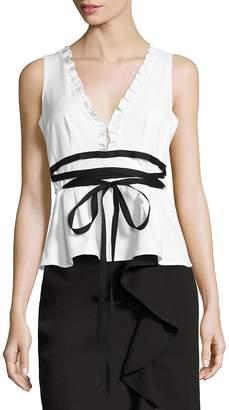 Nanette Lepore Women's Solid Sleeveless Top