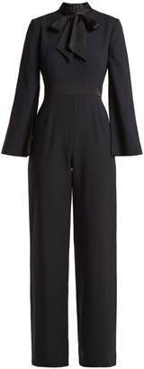 Goat Gypsy wool-crepe jumpsuit