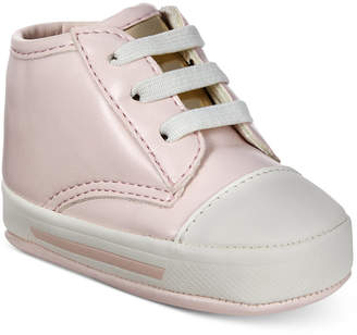 First Impressions Baby Girls Pink Sneakers