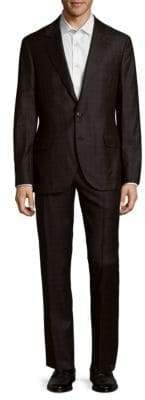 Brunello Cucinelli Checkered Wool Suit