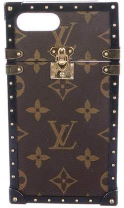 Louis Vuitton 2016 Monogram Eye-Trunk 7 Plus Case Brown 2016 Monogram Eye-Trunk 7 Plus Case