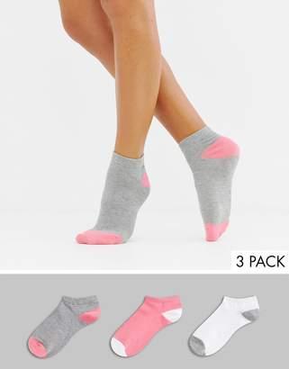 South Beach 3pack Socks