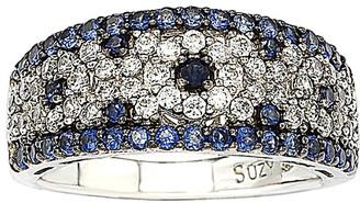 LeVian Suzy Diamonds Suzy 18K & Silver 2.28 Ct. Tw. Sapphire Ring