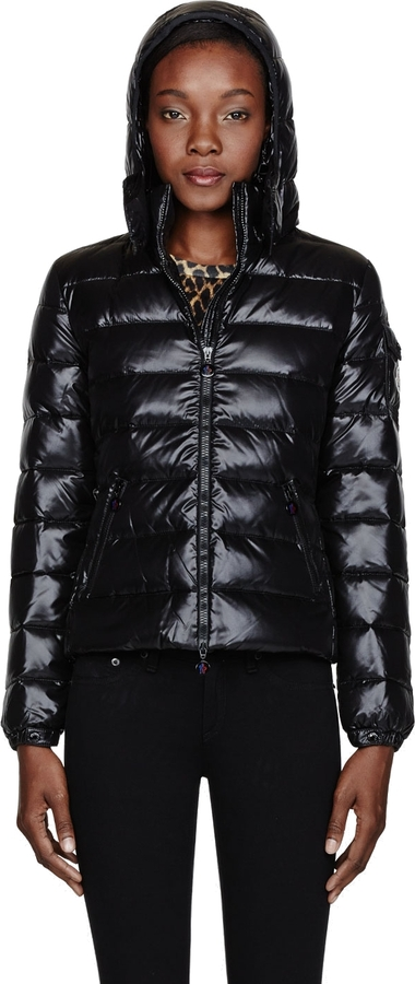 Moncler Black quilted down Bady jacket