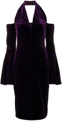 Tom Ford halterneck fitted midi dress