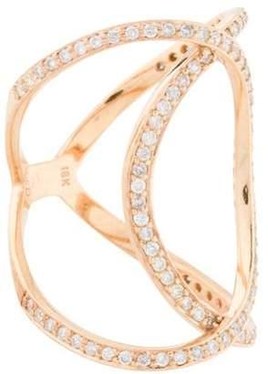 Anita Ko 18K Diamond Infinity Ring