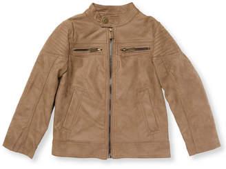 Urban Republic Boy's Suede Motorcycle Jacket