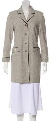 St. John Wool Tweed Coat w/ Tags