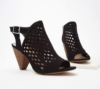 1915a466643 Vince Camuto Leather Perforated Heeled Sandals- Emperla