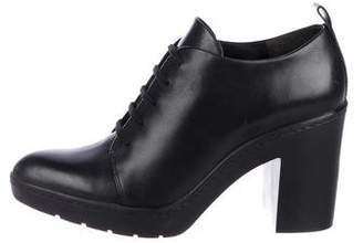Alexander Wang Leather Platform Booties