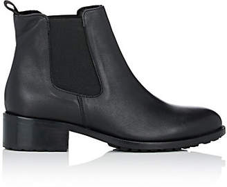 Barneys New York Women's Shearling-Lined Leather Chelsea Boots - Black