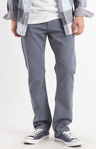 Bullhead Gravels Slim Twill Mirage Blue Pants