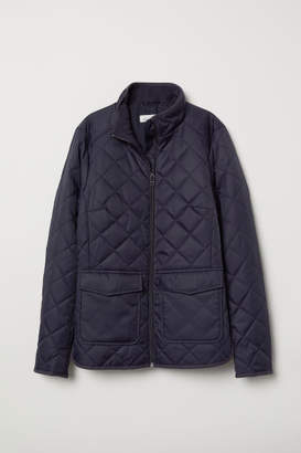 H&M Quilted Jacket - Blue