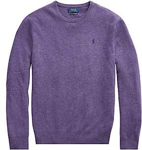 Polo Ralph Lauren Men's Heathered Cashmere Pullover