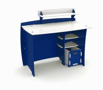 Harriet Bee Culley Writing Desk with Accessory Shelves File Cart Harriet Bee