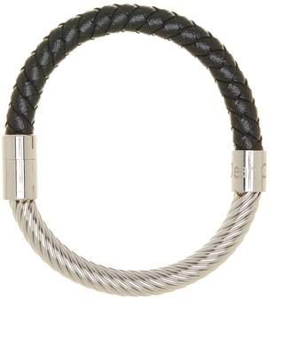 Jean Claude Woven Leather Combo Bracelet