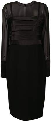 Max Mara Nadar pleated dress