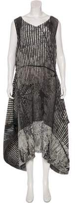 Issey Miyake Plissé Maxi Dress w/ Tags