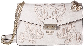 GUESS Arianna Convertible Crossbody Flap $108 thestylecure.com