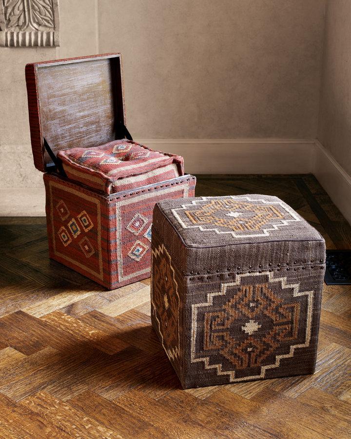 Horchow Kilim Cubes