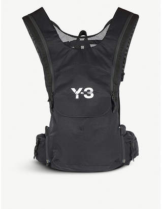 Y-3 Y3 Running nylon and mesh backpack